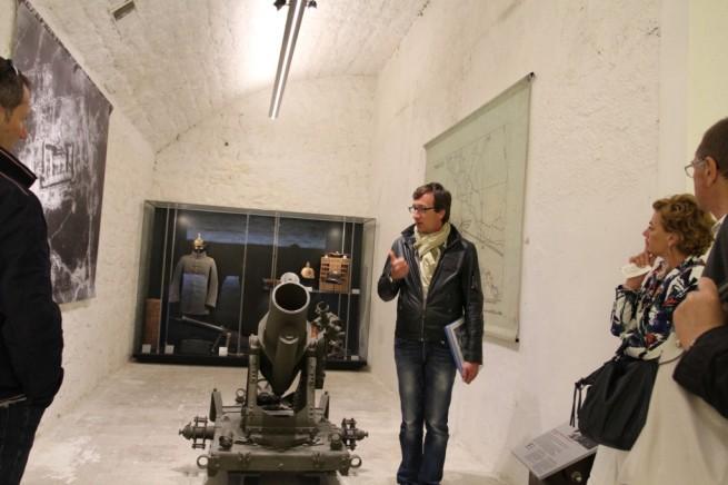 Visite guidée à l'intérieur du Fort de la Pompelle