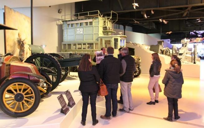 Visite guidée au musée de la Grande Guerre de Meaux