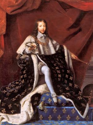 Le sacre de Louis XIV (Voir Crédits Photos)